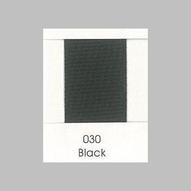 Grosgrain Ribbon 030 Black cheer bow ribbon