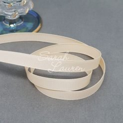 112 Nude Grosgrain Ribbon 9mm