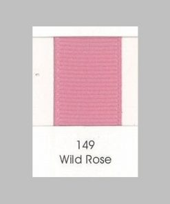 149 Wild Rose Grosgrain Ribbon