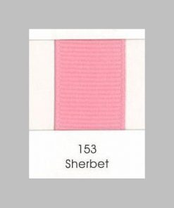153 Sherbet Grosgrain Ribbon