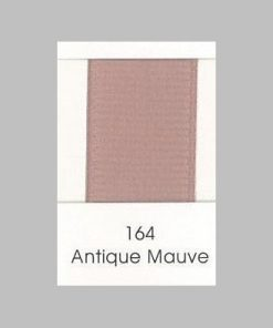 164 Antique Mauve Grosgrain Ribbon