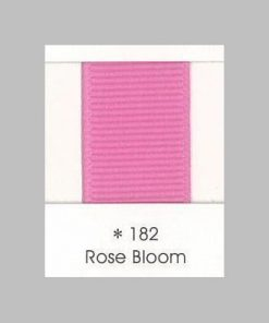 182 Rose Bloom Grosgrain Ribbon