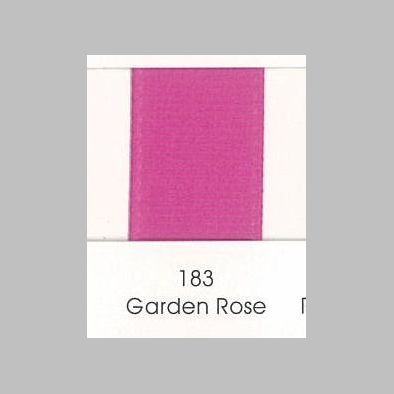 183 Garden Rose Grosgrain Ribbon