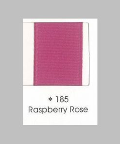 185 Raspberry Rose Grosgrain Ribbon