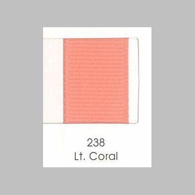 238 Light Coral Grosgrain Ribbon