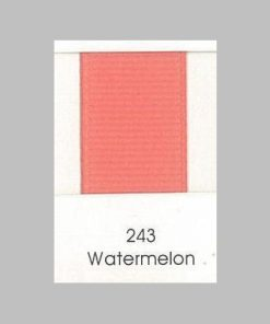 243 Watermelon Grosgrain Ribbon