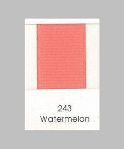 243 Watermelon Grosgrain Ribbon