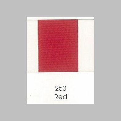 250 Red Grosgrain Ribbon