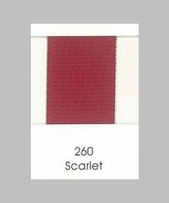 260 Scarlet Grosgrain Ribbon