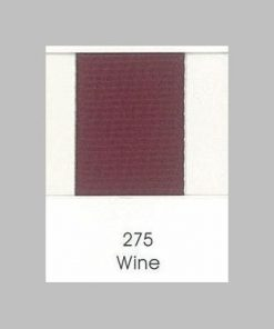 Maroon Grosgrain Ribbon 275 Wine
