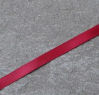 275 Wine Double faced satin ribbon