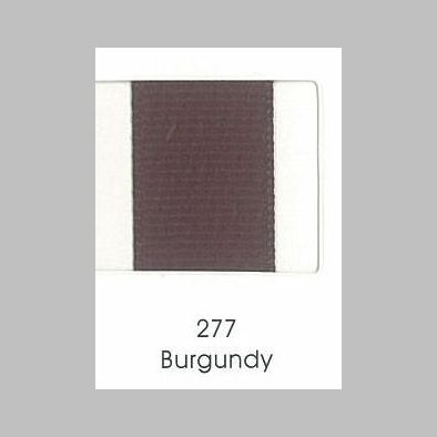 277 Burgundy Grosgrain Ribbon