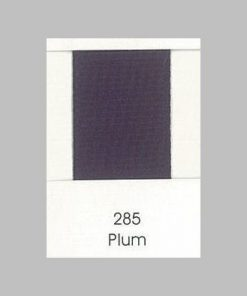 285 Plum Grosgrain Ribbon