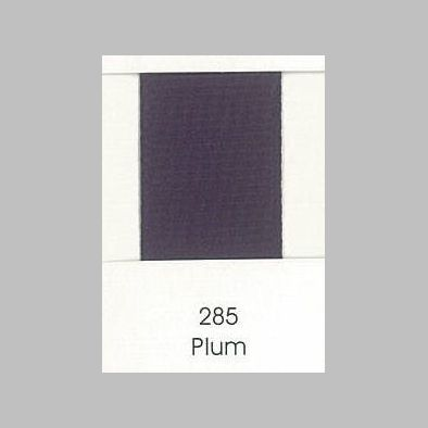 285 Plum Grosgrain Ribbon