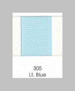 305 Lt Blue Grosgrain Ribbon