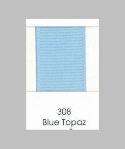 308 Blue Topaz Grosgrain Ribbon