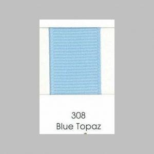 308 Blue Topaz Grosgrain Ribbon