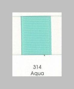 314 Aqua Grosgrain Ribbon