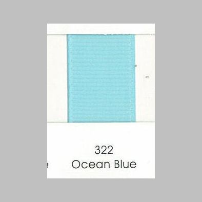322 Ocean Blue Grosgrain Ribbon