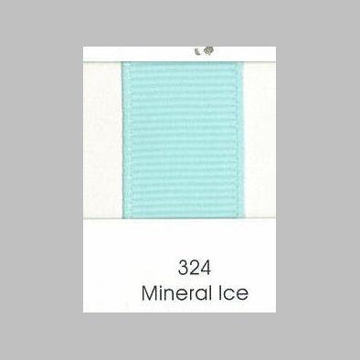 324 Mineral Ice Grosgrain Ribbon