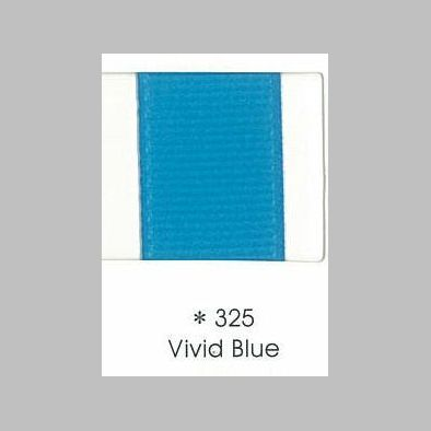 325 Vivid Blue Grosgrain Ribbon