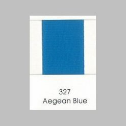 327 Aegean Blue Grosgrain Ribbon