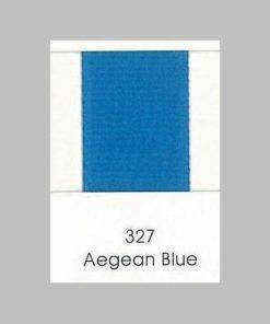 327 Aegean Blue Grosgrain Ribbon