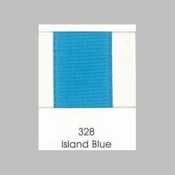 328 Island Blue Grosgrain Ribbon