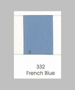 332 French Blue Grosgrain Ribbon