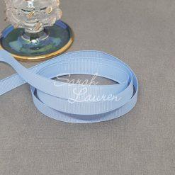 333 Bluebird grosgrain ribbon