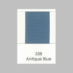 338 Antique Blue Grosgrain Ribbon