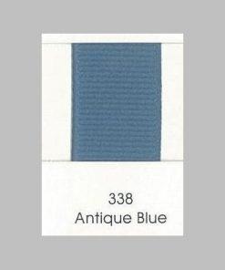 338 Antique Blue Grosgrain Ribbon