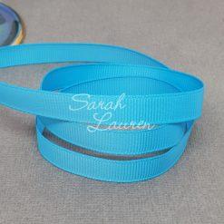 340 Turquoise grosgrain ribbon