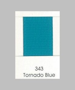 343 Tornado Blue Grosgrain Ribbon