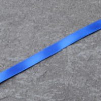 352 Electric Blue double faced satin ribbon