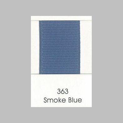 363 Smoke Blue Grosgrain Ribbon