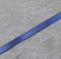 navy blue double faced satin ribbon