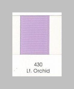 430 Lt Orchid Grosgrain Ribbon