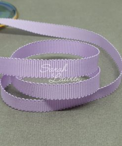 430 Lt Orchid Petersham Ribbon 9mm grosgrain ribbon