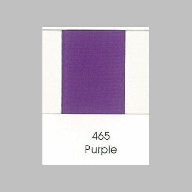 465 Purple Grosgrain Ribbon