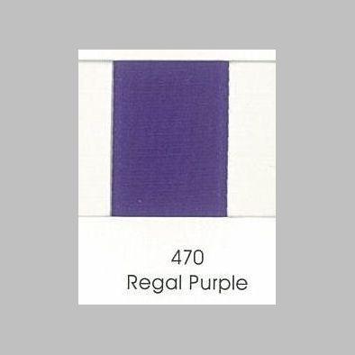 470 Regal Purple Grosgrain Ribbon