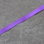 Double faced satin ribbon 470 Regal purple