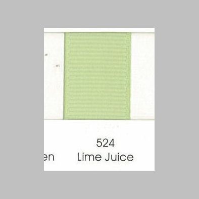 524 Lime Juice Grosgrain Ribbon