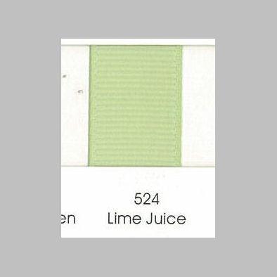 524 Lime Juice Grosgrain Ribbon
