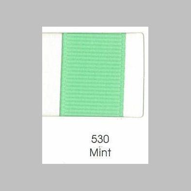530 Mint Grosgrain Ribbon