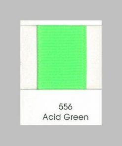 556 Acid Green Grosgrain Ribbon