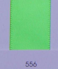 556 Acid Green satin ribbon