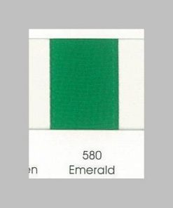 580 Emerald Grosgrain Ribbon