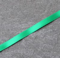 emerald double faced satin ribbon