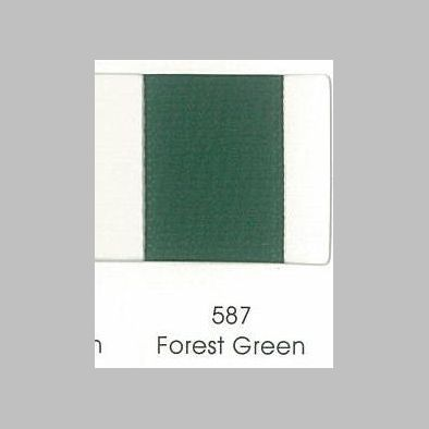 587 Forest Green Grosgrain Ribbon
